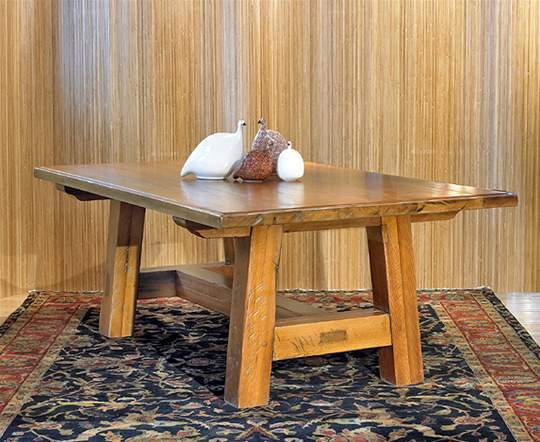 Old Growth Douglas Fir Dining Table