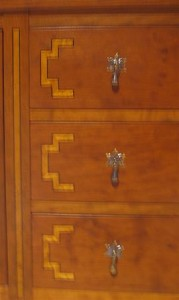 Satinwood inlay Detail