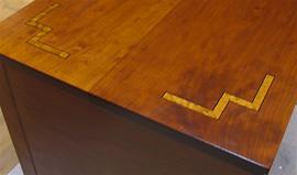 Wolffe Sideboard Corner Detail