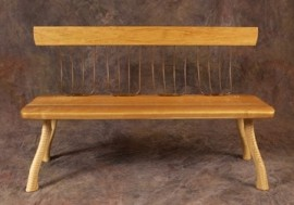Pitchfork Bench w/o Arms