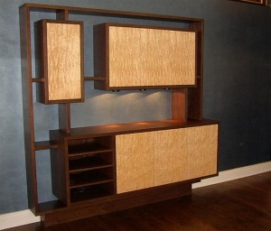 Custom Modern Wall/Bar Unit