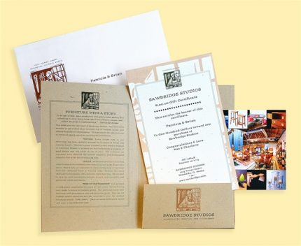 Sawbridge Studios Gift Certificate