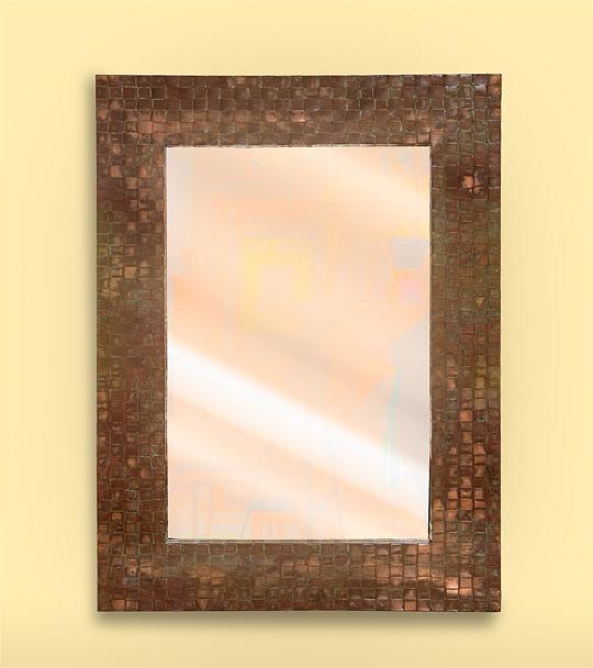 Copper Weave Mirror