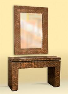 Copper Woven Set