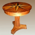 "Compass Table customized to 28""D"