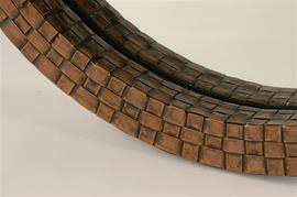 Copper Mirror Detail