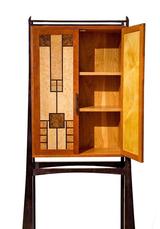 Prairie Windows Cabinet
