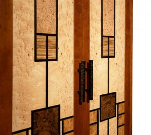 Prairie Windows Cabinet Detail