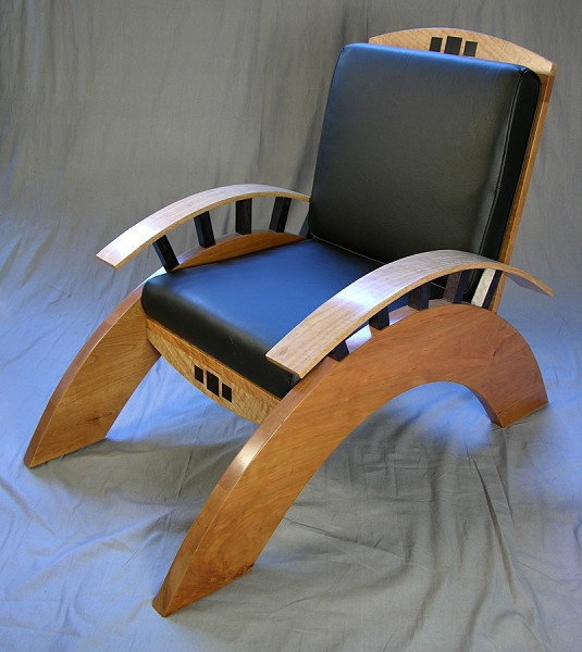 Arched Arm Chair