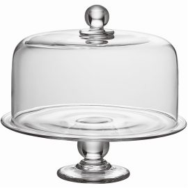 Hartland Dome and Cake Plate Set