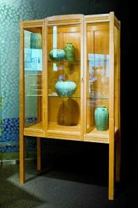 Carved Curio Cabinet