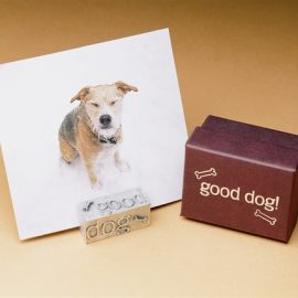 Good Dog Photo Holder