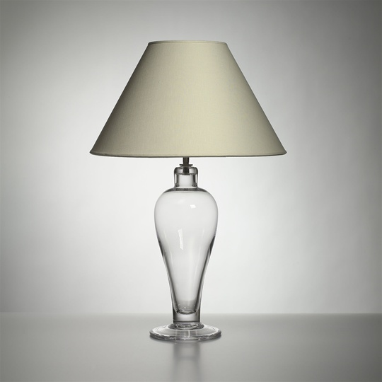 Brandon Lamp with Linen Shade