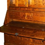 Campaign-Style Desk Hutch Detail