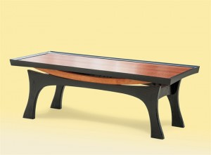 Arch Coffee Table Side View