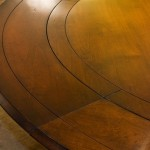 Four Column Round Table Detail