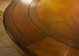 Four Column Round Table Detail