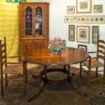 Four Column Round Table 60""