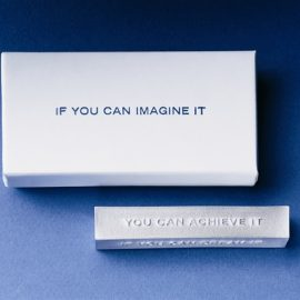 """If You Can Dream It"" Paper Weight"