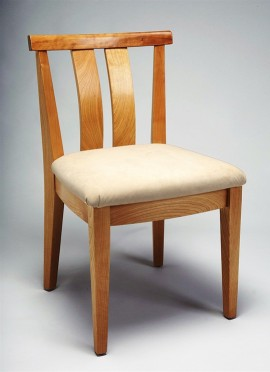 Asian Side Chair (Cherry)