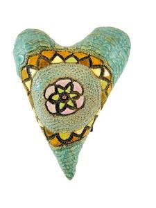 Medallion Clay Heart