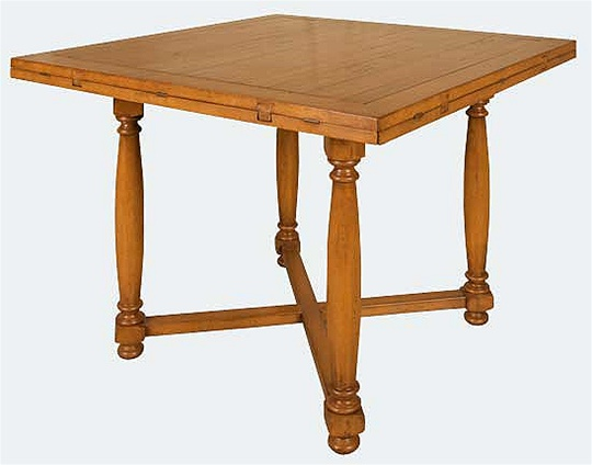 Square to Round Dining Table