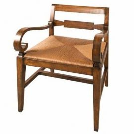 Roll Arm Rachel Chair