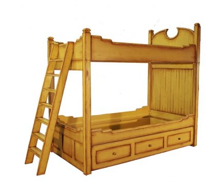 Nottingham Bunk Bed with Trundle