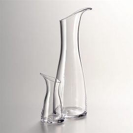 Barre Glass Carafe