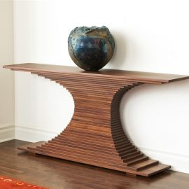 Elliptical Console Table