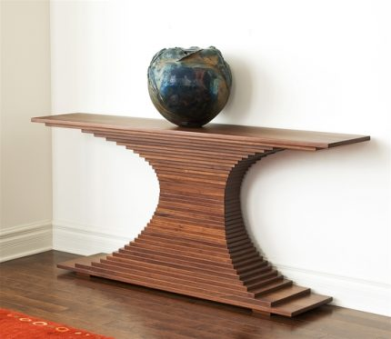 Elliptical Console Table
