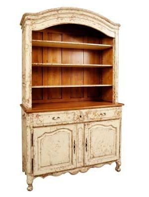 Large French Country Hutch