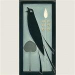 Single Songbird Grey Blue