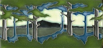 Horizontal Pine Landscape