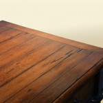 Willoughby Partners Desk with inlaid plank top