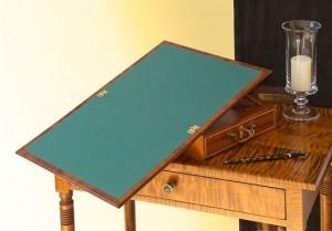 Jefferson Lap Desk Writing Section Expanded
