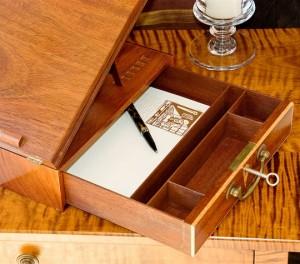 Jefferson Lap Desk Inner Drawer