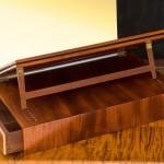 Jefferson Lap Desk Book Section Rear View
