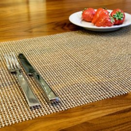 Lattice Pattern Rectangular Placemat