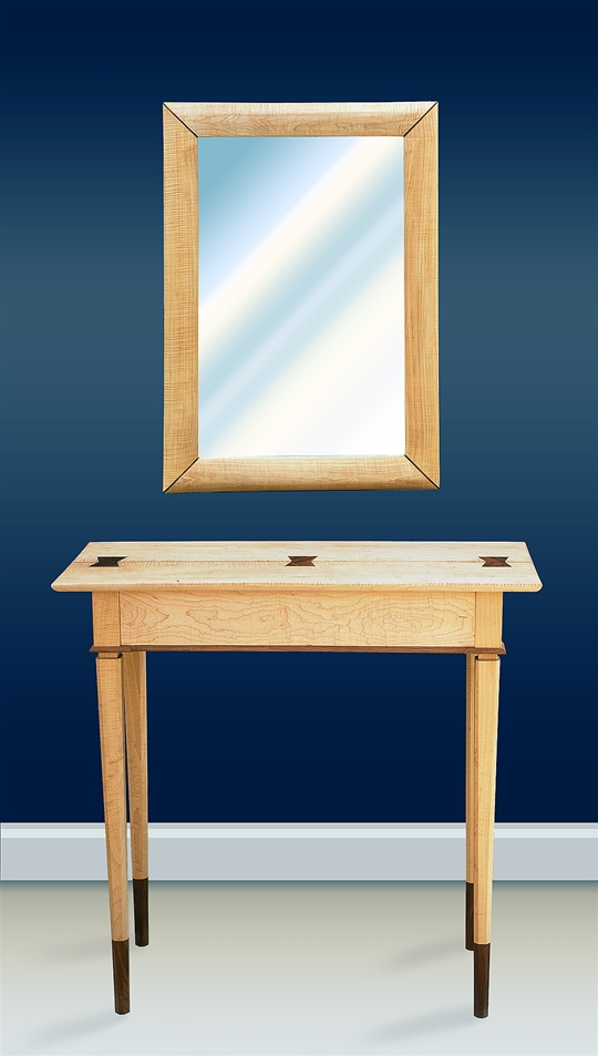 Butterfly Console Table U0026 Mirror,Mirror