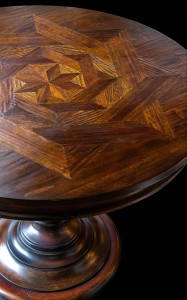 Parquet Table (above view)