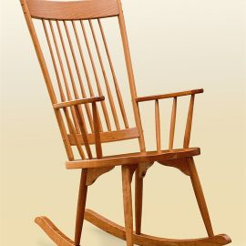 Highback Rocker Armchair