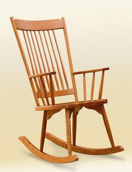 Highback Rocker Armchair