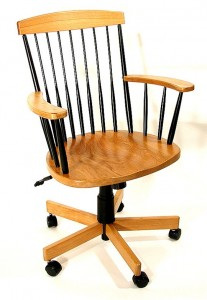 Light Cherry with Maple Royal Office Chair