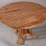 Tiger Maple Cascade Table
