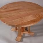 Tiger Maple Cascade Table