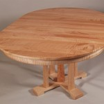 Extended Tiger Maple Cascade Table
