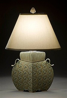 Arts & Crafts Lamp in Sage