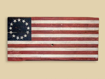 Reclaimed Barn Wood Betsy Ross Flag