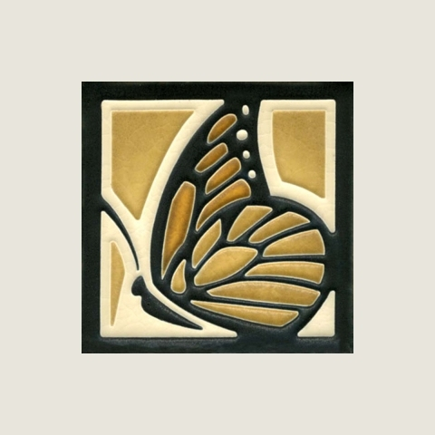 Dark Oak Butterfly Tile
